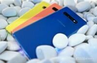 Samsung Galaxy S10 Plus zum Anfassen