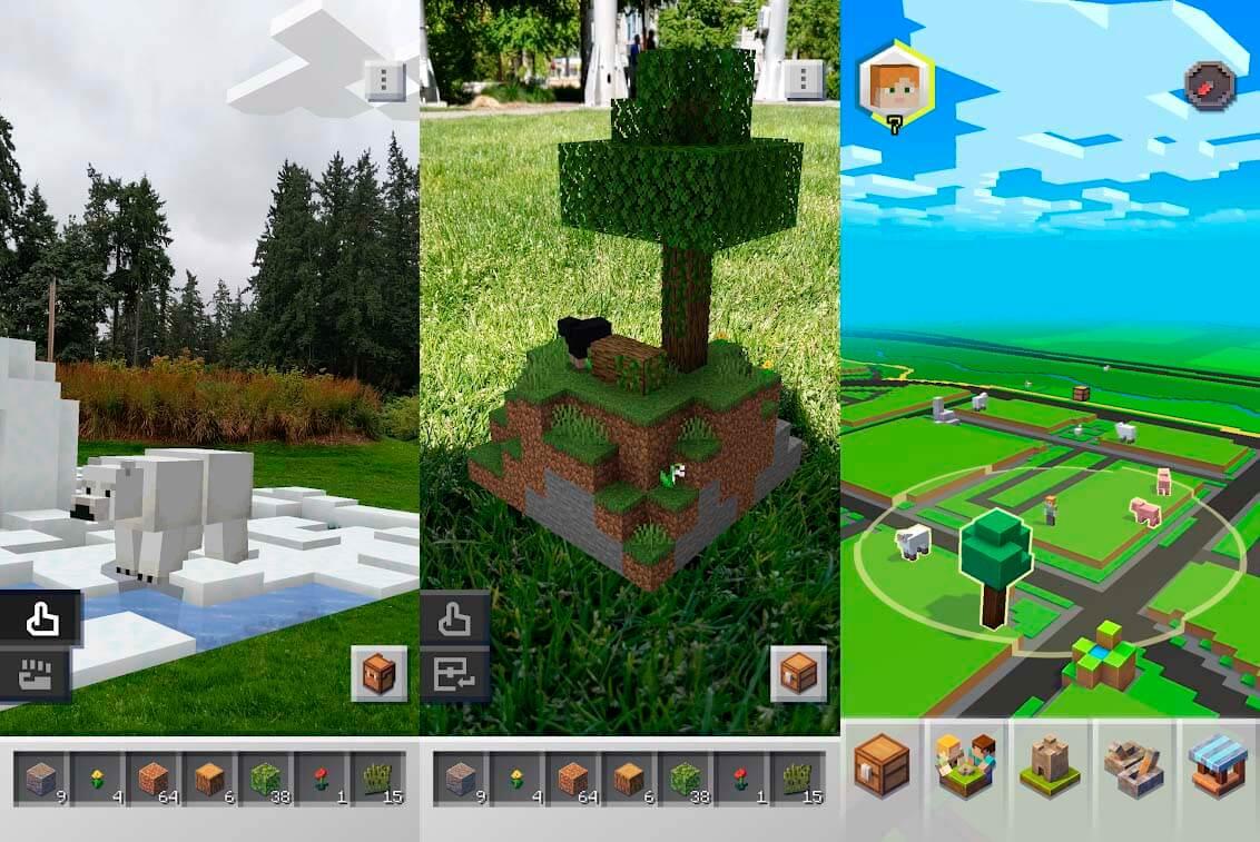 Laden Sie das Minecraft Earth APK herunter