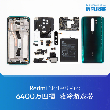 Redmi Note 8 Pro Teardown | (c) Xiaomi