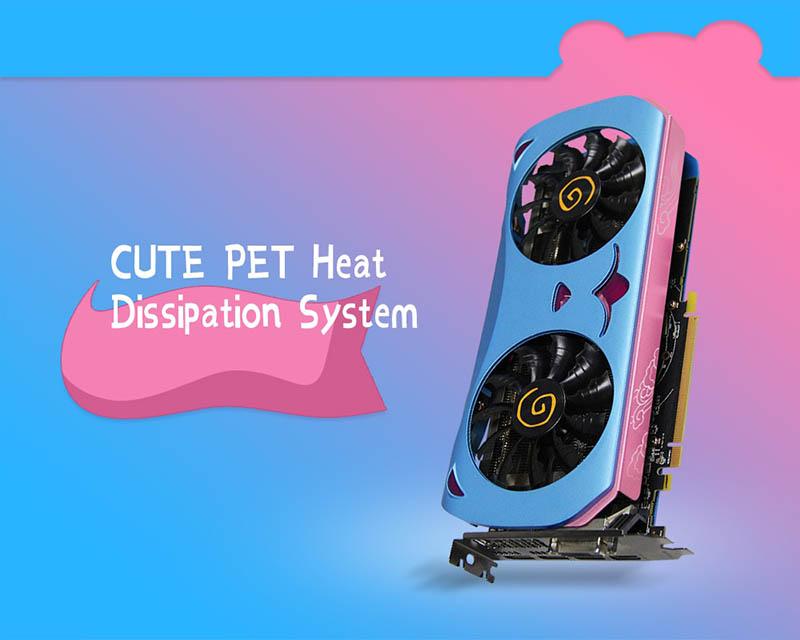 A Yeston apresenta sua Radeon RX 580 Cute Pet, a gráfica mais delicada do mundo? 1