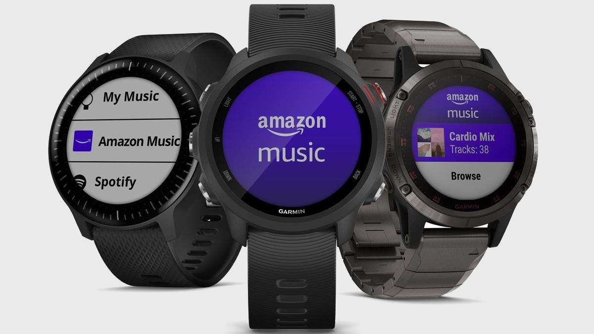 Amazon Music veröffentlicht seine erste Smartwatch-App für Garmin-Geräte 1