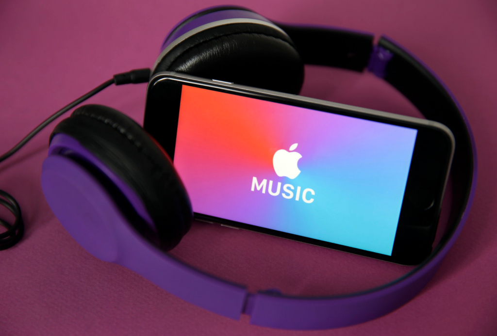 Apple Start des Digital Masters Catalogue von Music 1