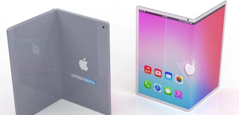 Apple startet zunächst ein klappbares iPad, später das iPhone 1