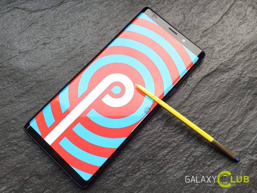 Samsung Galaxy Note 9 Update August 2019