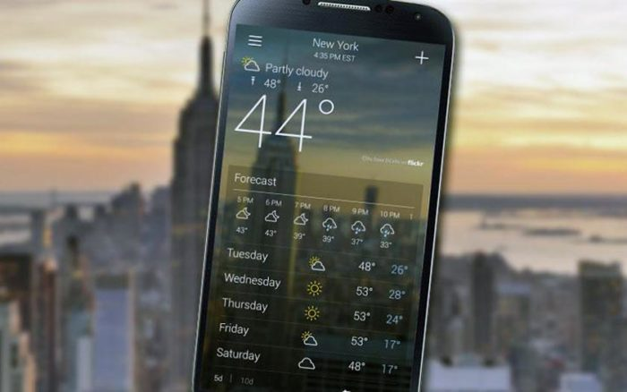 Beste Wetter Apps, Android