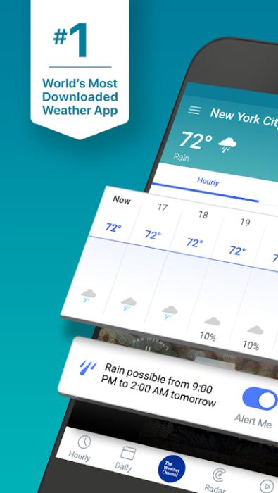 Beste Wetter Apps für Android installieren 2