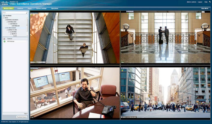 Cisco Video Surveillance Manager