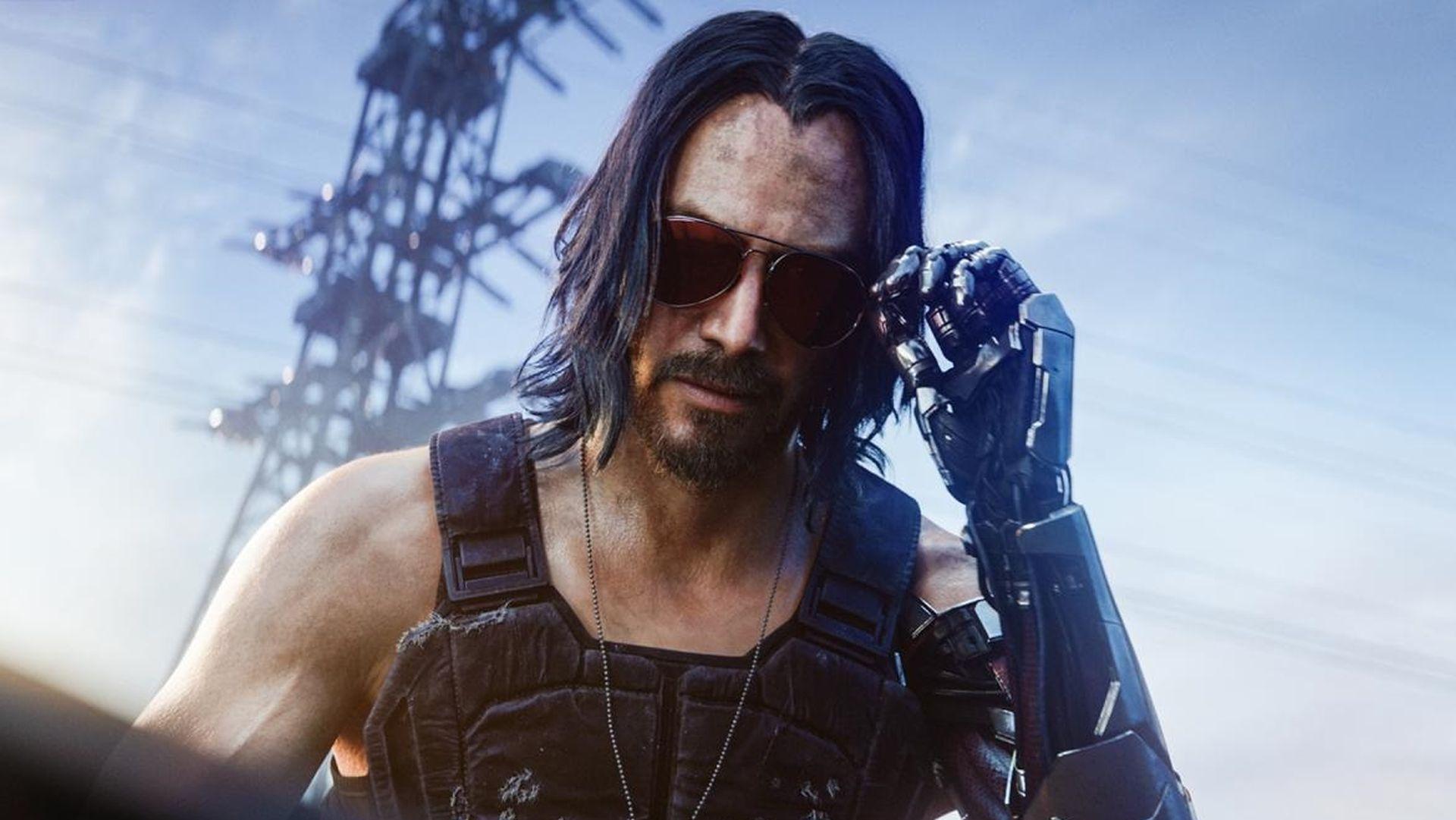 """Cyberpunk-Entwickler aus dem Jahr 2077 sagen, in Johnny Silverhand steckt """"ein Teil von Keanu"""""""