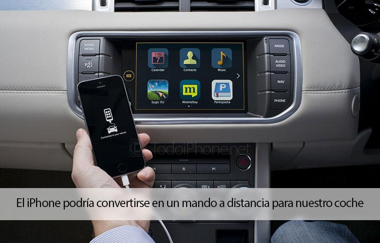 Das iPhone könnte eine Fernbedienung für unser Auto werden 1