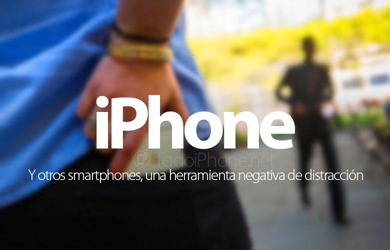 Das iPhone und andere Smartphones sind ein negatives Ablenkungswerkzeug 1