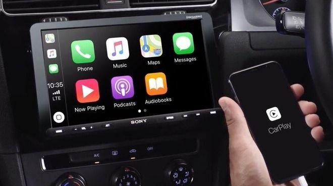 Die neue CarPlay-Infotainment-Einheit von Sony bringt ein Tablet in Ihr Auto 1