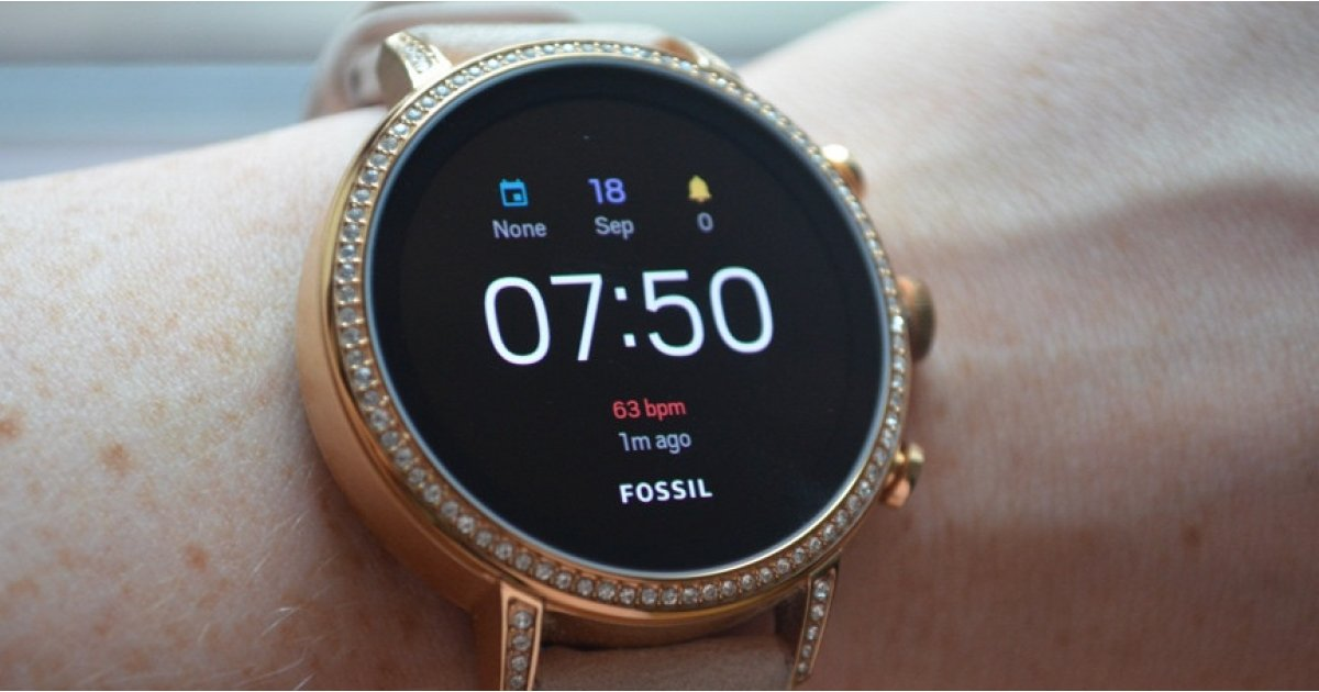 Die stilvolle Fossil Q Venture HR Smartwatch kostet nur 150 US-Dollar 1
