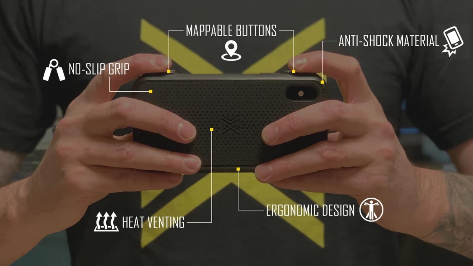 Diese neue Gaming-Hülle von MCG fügt Ihrem iPhone wieder zuordenbare Tasten hinzu 1