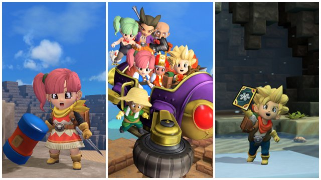 Dragon Quest İnşaatçılar 2 Son pulsuz yeniləmə Epilogue, yeni saç düzümləri, hava xəritələri