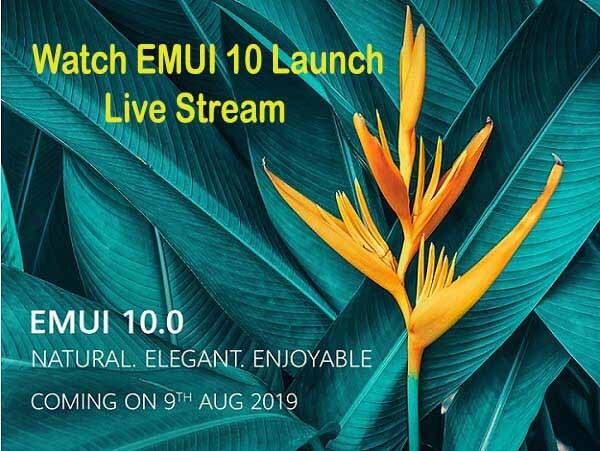 EMUI 10 Live-Stream starten: So wird es angezeigt?