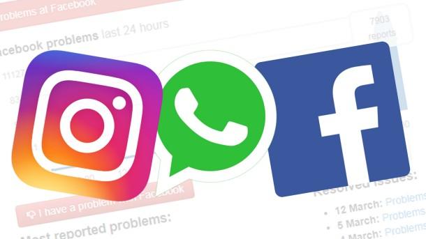 Facebook Beides beschriften Instagram Und WhatsApp mit eigenem Namen