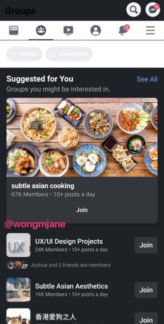 Facebook arbeitet an einem dunklen Modus für seine Android-App 2