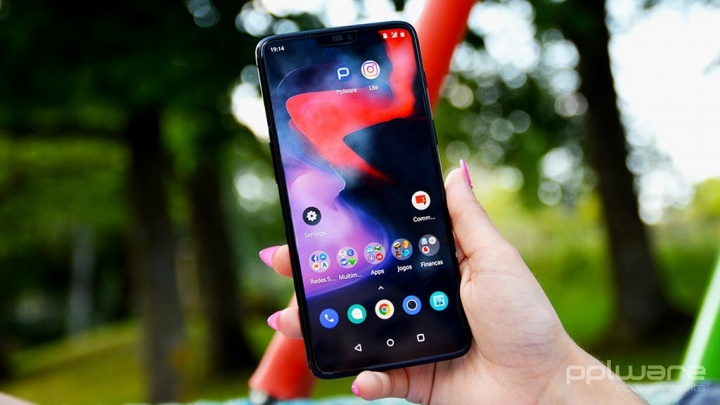 OnePlus Smartphone Android-Spiele Fnatic Mode