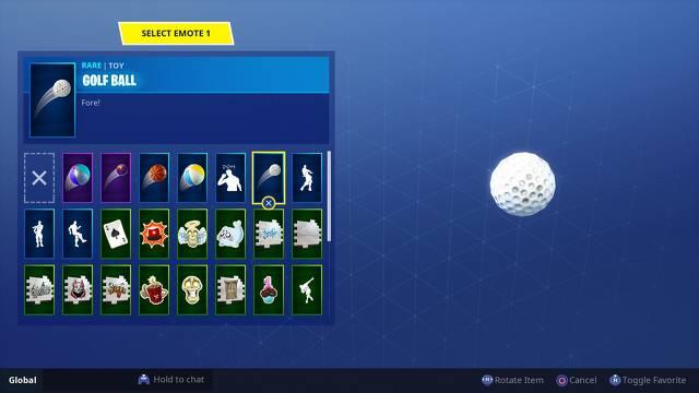 Fortnite Schlagen Sie einen Golfball vom Abschlag zum Grün - So schlagen Sie den Golfball für die Herausforderung Woche 5 2