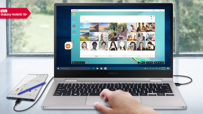 Galaxy Note  10: Dex App für Windows und Mac ab sofort erhältlich