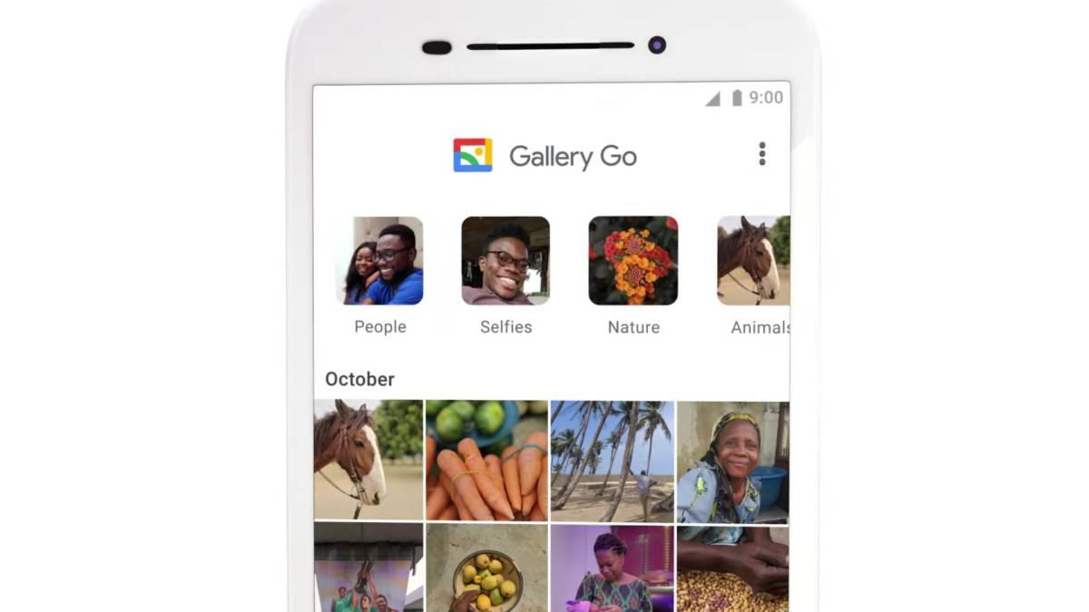 Galerie GO, Google startet die Light-Version von Fotos