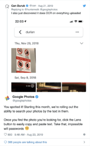 Google Fotos bietet eine Funktion, mit der Sie nach Text in Ihren Bildern suchen können 1