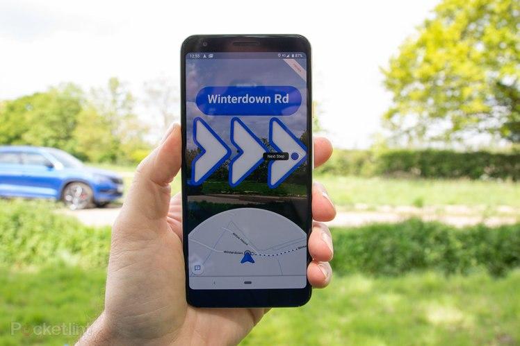 Google Maps Live View AR-Navigation für mehr Geräte 1