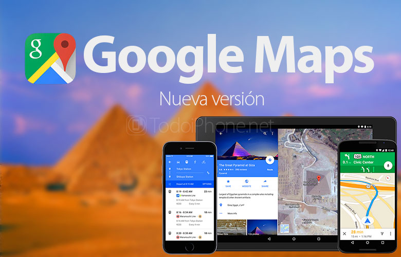 Google Maps bietet jetzt eine Vollbildansicht und mehr 1