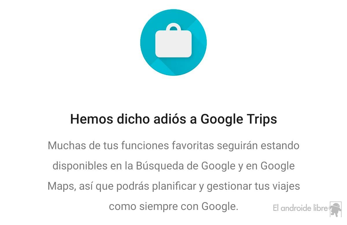 Google verabschiedet sich von seiner Reise-App Google Trips