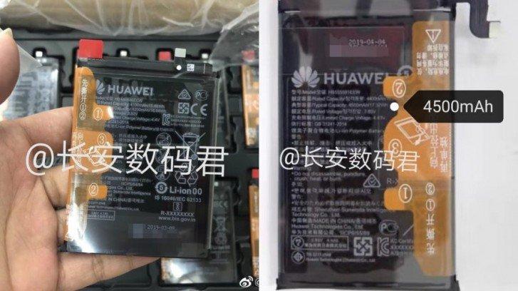 Huawei Mate 30 und Mate 30 Pro Batterien