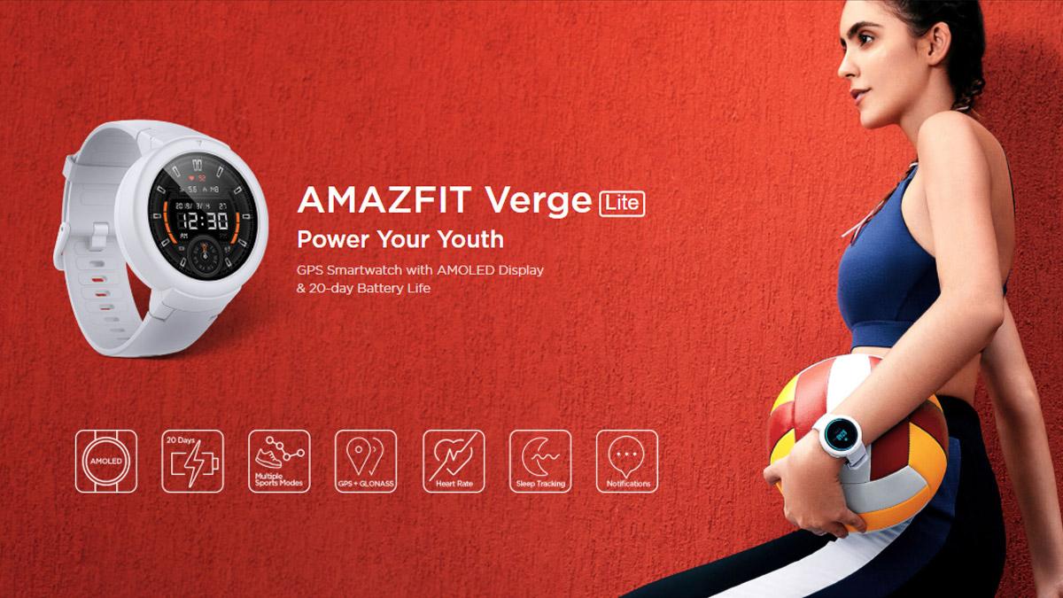Huamis Amazfit Verge Lite wurde in Indien auf Flipkart veröffentlicht 1