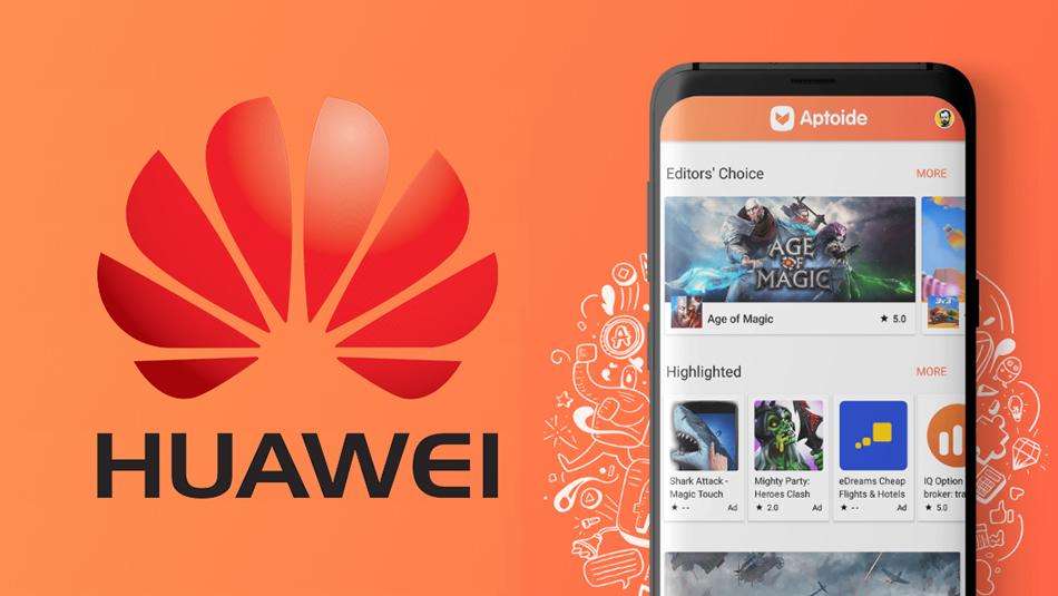Huawei und Aptoide 0