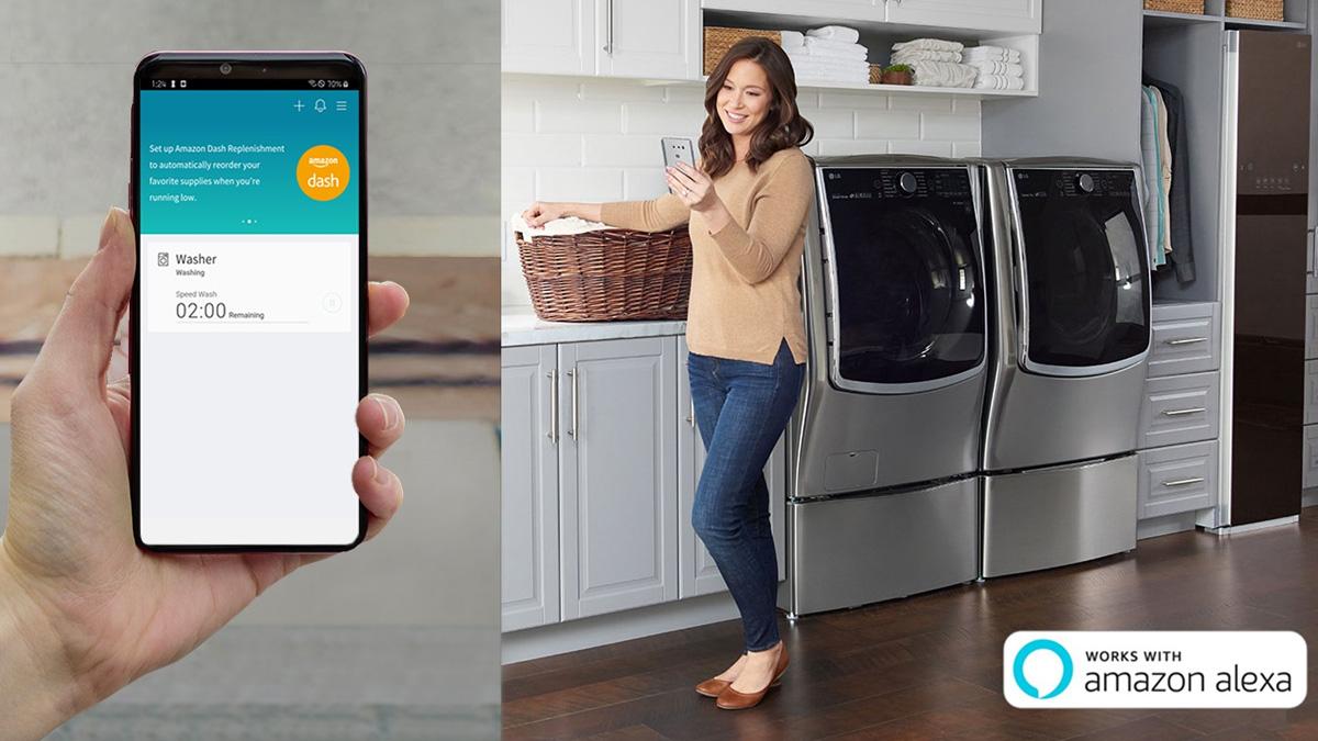 LG ThinQ wird anbieten Amazon Dash Replenishment für mehr Komfort 1