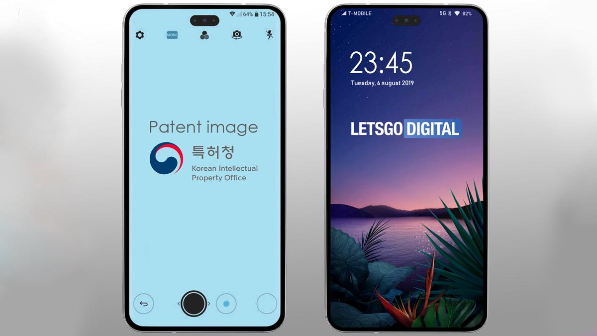 LG bringt sein erstes Smartphone mit mittlerer Lochkamera auf den Markt 1