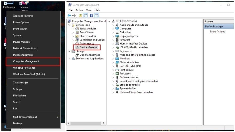 Windows 10 Treiber