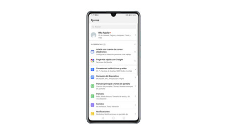 Huawei-Einstellungen