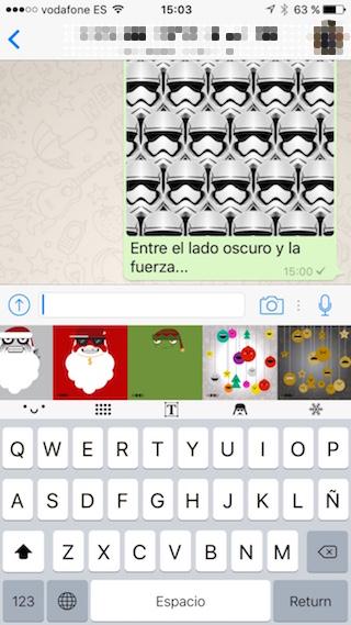 MOOD Tastatur, gratuliere Weihnachten anders mit deinem iPhone 2