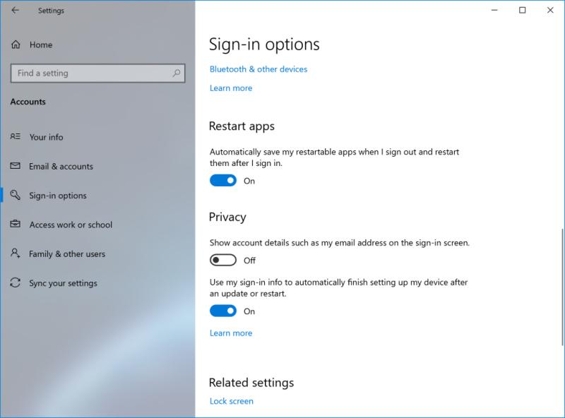 Microsoft testet eine neue Option zum Neustarten in Windows 10 1