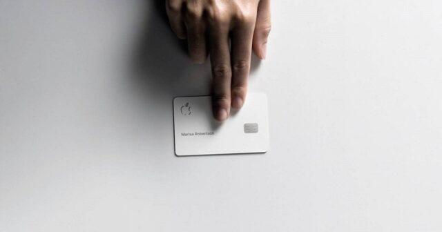 Kreditkarte Apple Karte