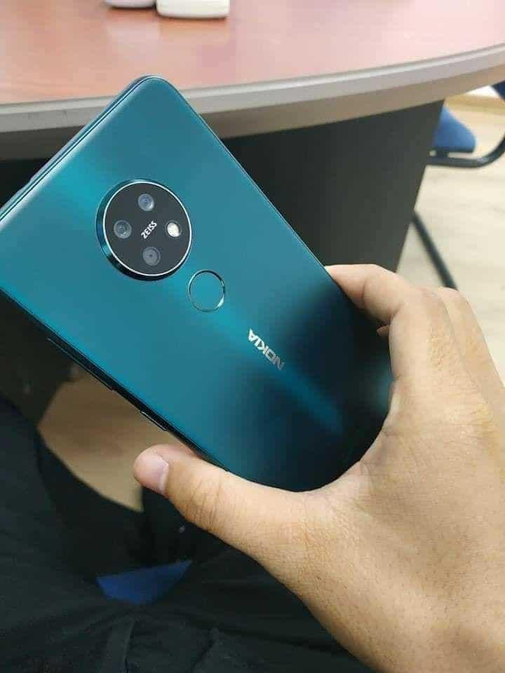 Neue Fotos von Nokia 7.2 in dunklem Cyan sind durchgesickert 1