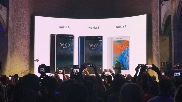 Hier finden Sie alles, was Sie über Nokia 3, Nokia 5 und Nokia 6 wissen müssen
