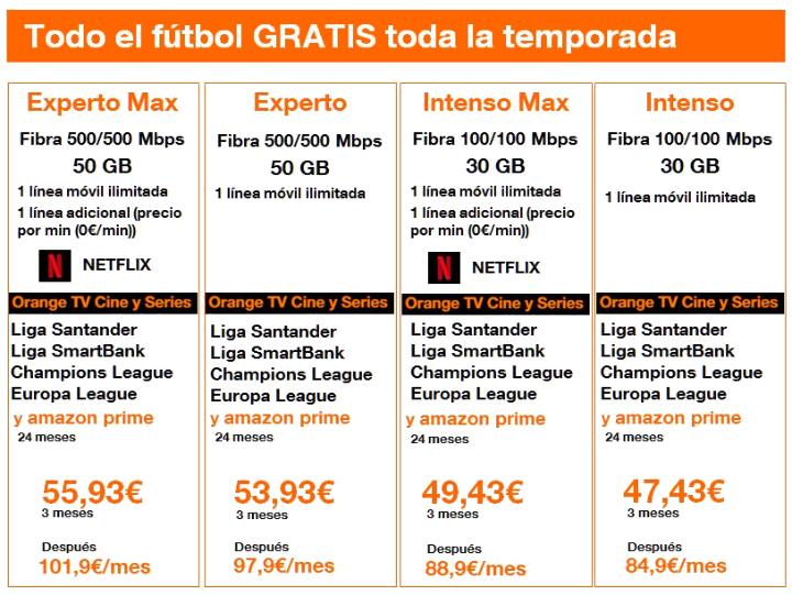 Bild - Orange wird den kostenlosen Fußball für 2019/2020 in den Love-Tarifen enthalten