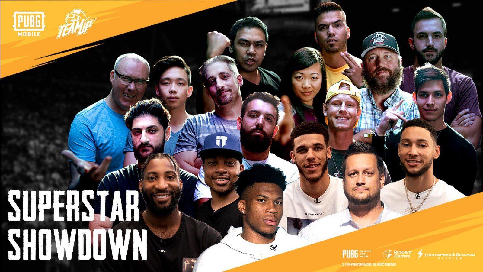 PUBG Mobile Superstar Showdown mit professionellen Basketballspielern, Mitgliedern des Faze Clans und mehr 1