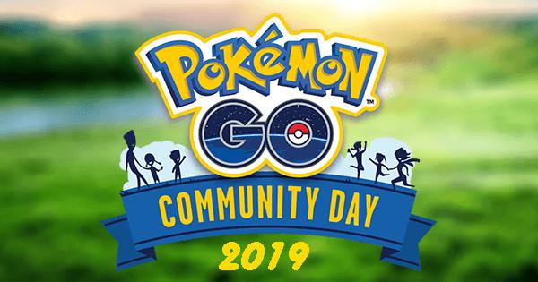 Pokemon Go Complete, aktualisierte Liste aller Community Day-Veranstaltungen im Jahr 2019 1