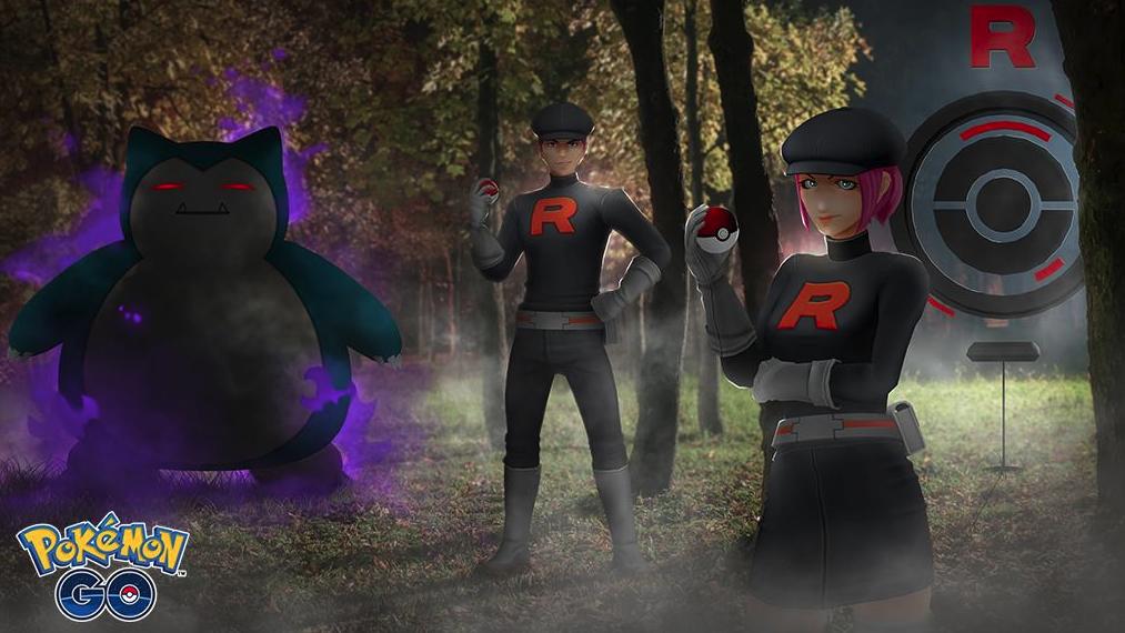 Pokemon Go Team Go Raketengrunzer-Dialog Zeigt den Typ des stärksten Pokemons an