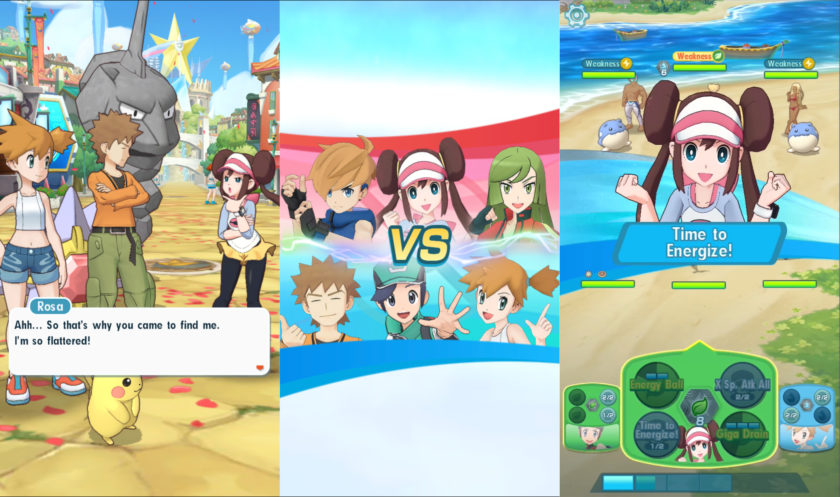 pokemon mastert screenshots