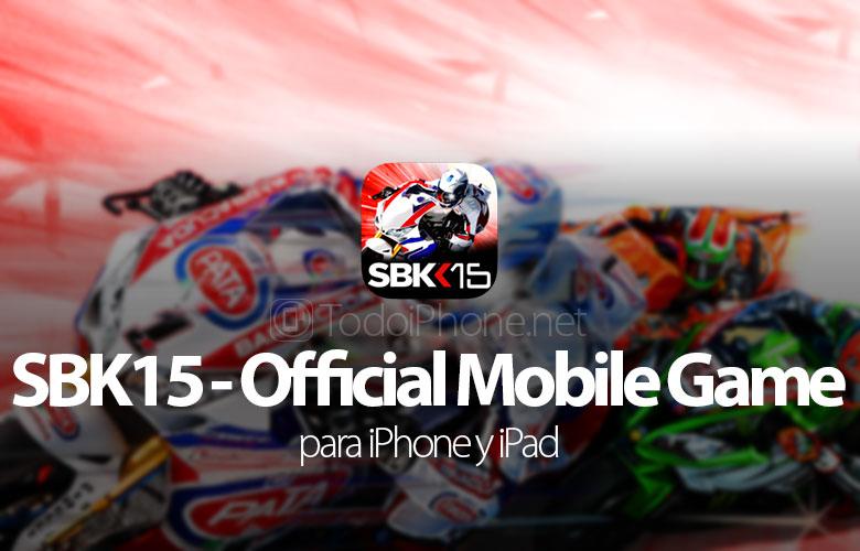 SBK15, kommt das Superbike-Motorrad-Spiel 2015 für iPhone und iPad 1