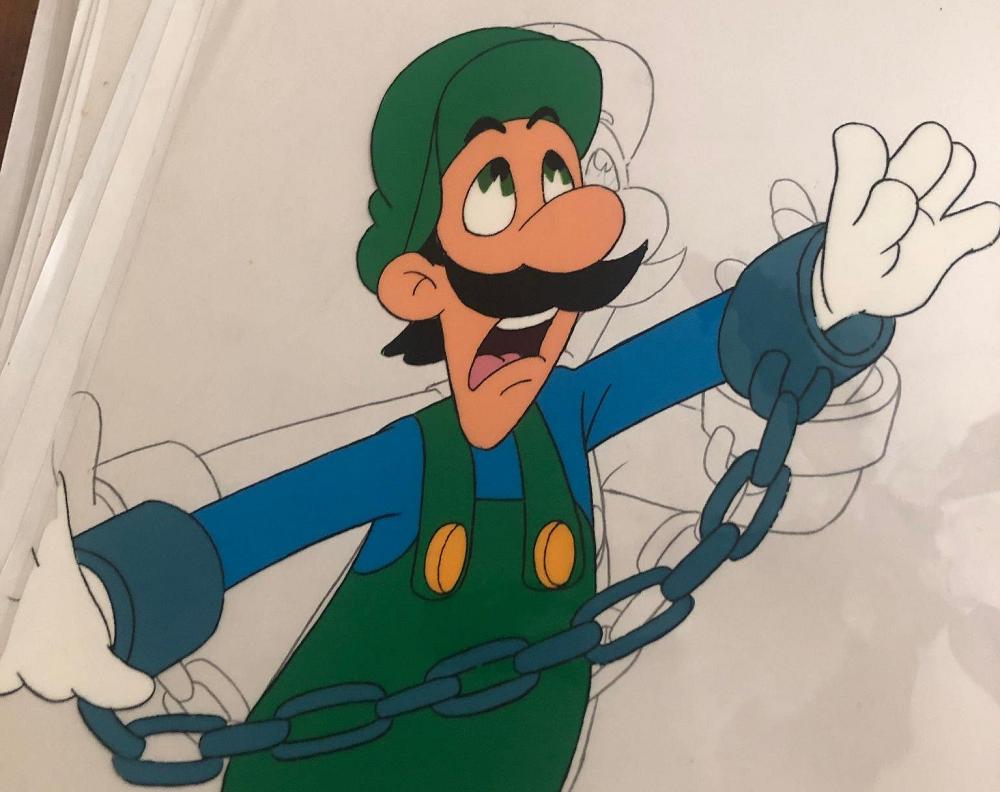 Sammler erwirbt fast 200 Super Mario Bros. Super Show / Super Mario Bros. 3 Animations-Cels