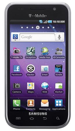 Samsung Galaxy S 4G Android Smartphone Bewertung 2