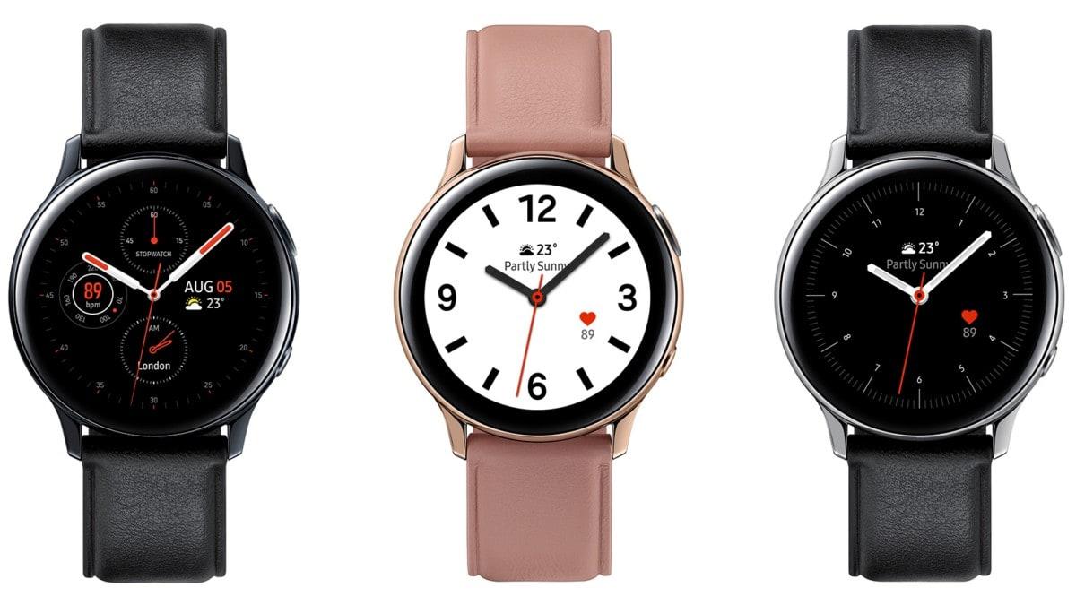 Samsung Galaxy Uhr Active2 Leder Samsung Galaxy Beobachten Sie Active 2